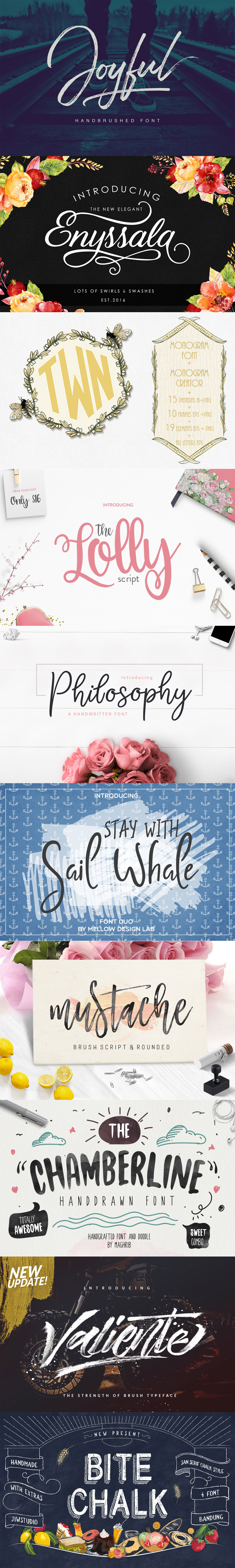 Fonts & Graphics Bundle Sale