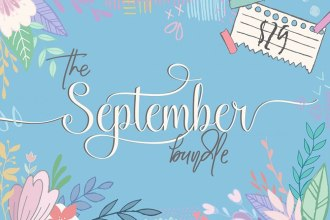 Fonts & Graphics Bundle For September 2016