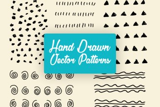 Hand-drawn Vector Patterns
