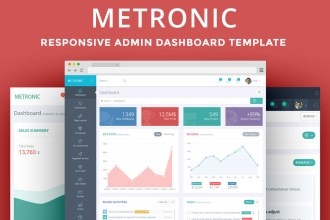 Metronic Admin Dashboard Template