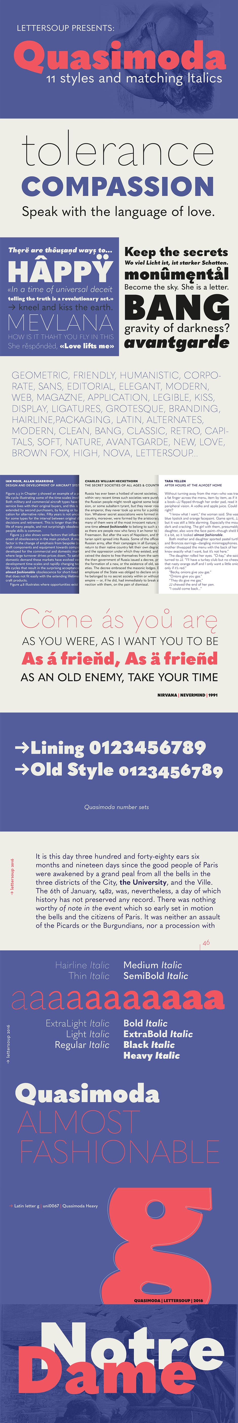 Definitive Fonts Bundle Quasimoda