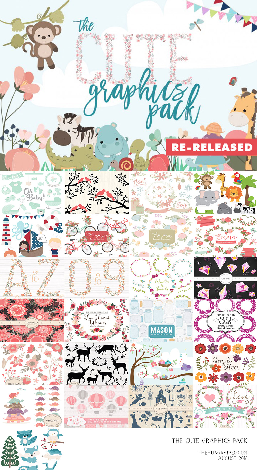 The Cute Graphics Pack