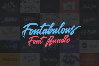 Fotabulous Fonts Bundle