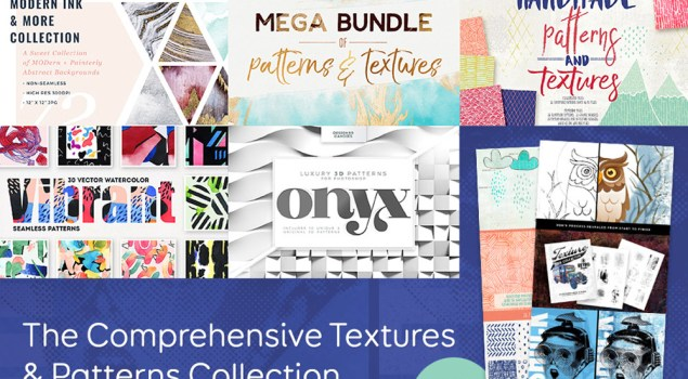 The Comprehensive Textures and Patterns Bundle