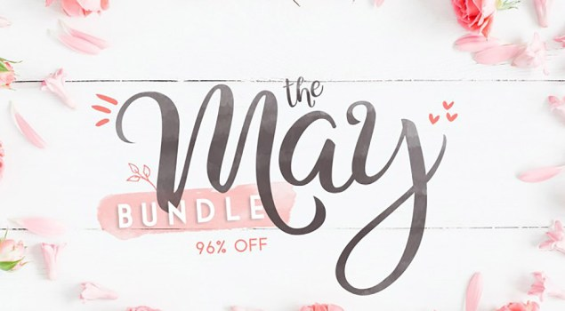 The May Fonts Bundle