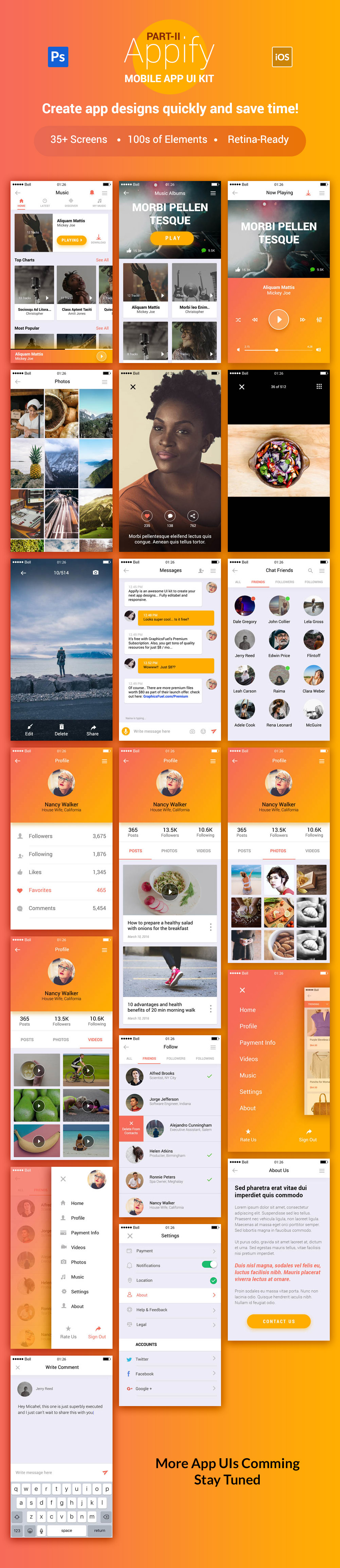 Appify App UI Kit