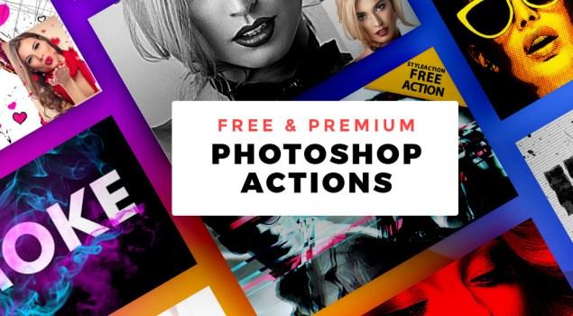 Free & Premium Photoshop Actions