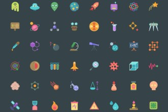 Free Science Vector Icons