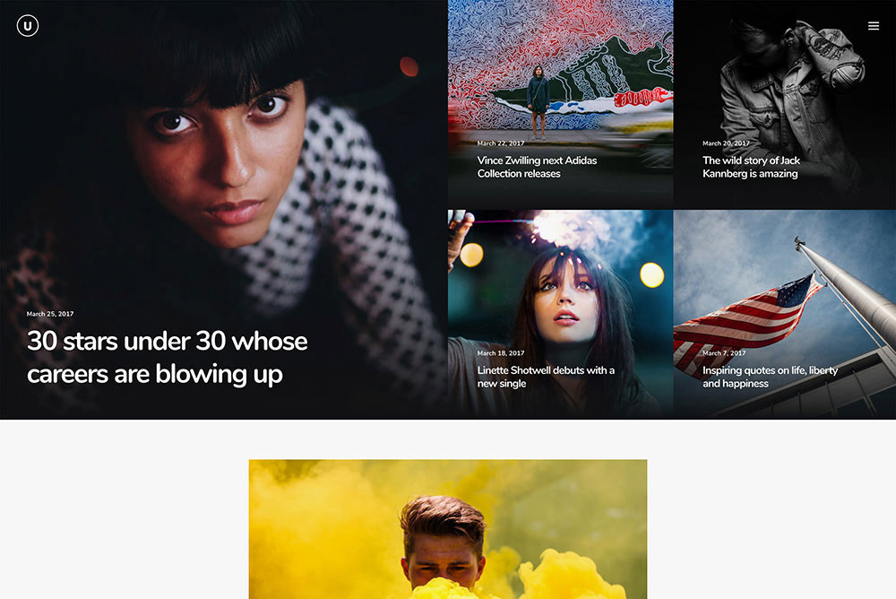 Uncode WP Theme Gallery