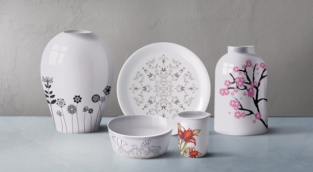 Ceramic Tableware PSD Mockup Set