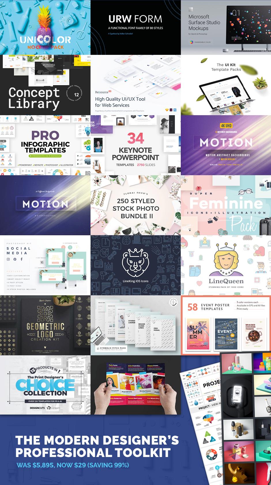 Modern Designers Professional Tookit
