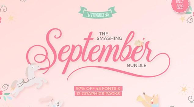 The Smashing September Fonts And Graphics Bundle