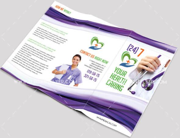 Medical – PSD Tri-fold Brochure