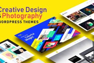 Creative Design & Photography WP Themes