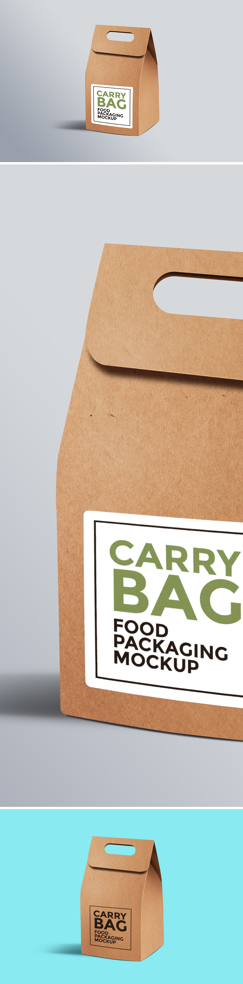 Paper Carry Bag Mockup
