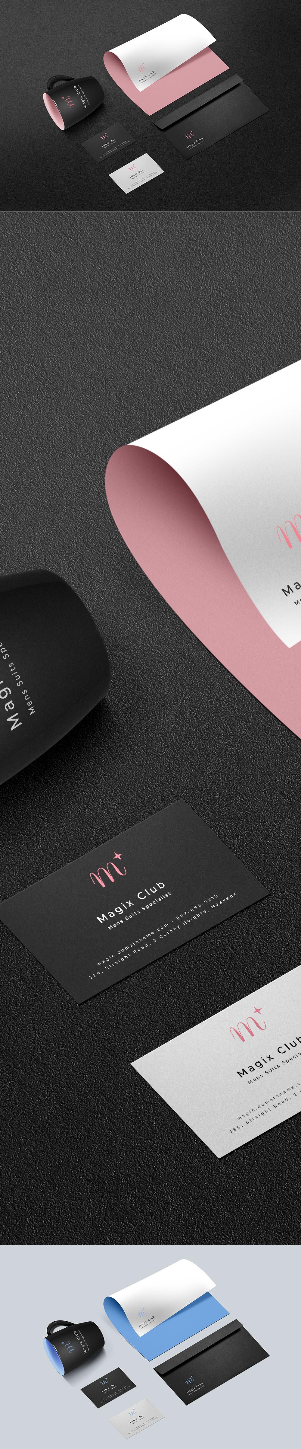 Dark Branding Identity