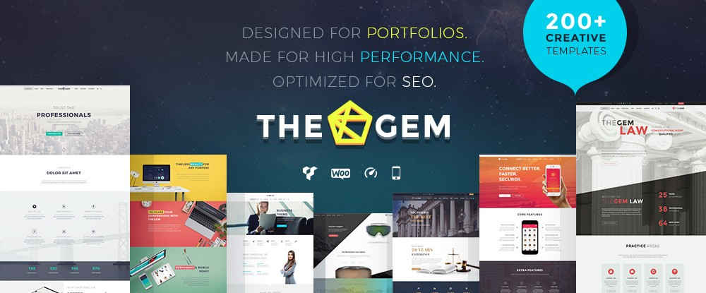 The Gem Multipurpose WP Theme