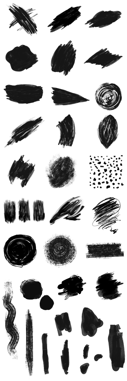 Hand drawn Abstract Shapes