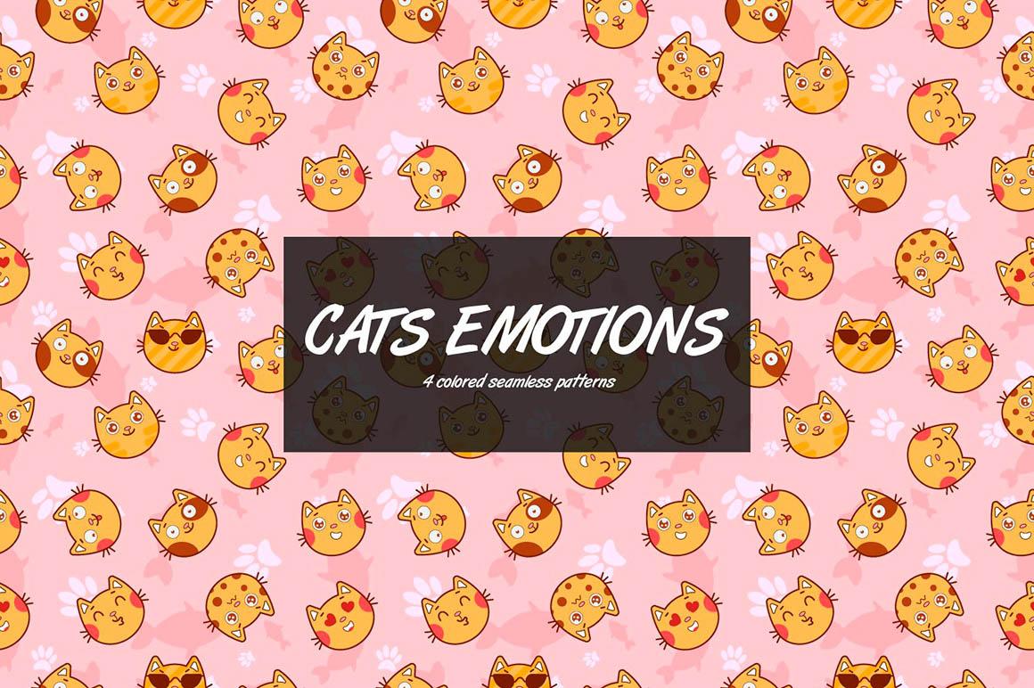 Cat Emotions Pattern