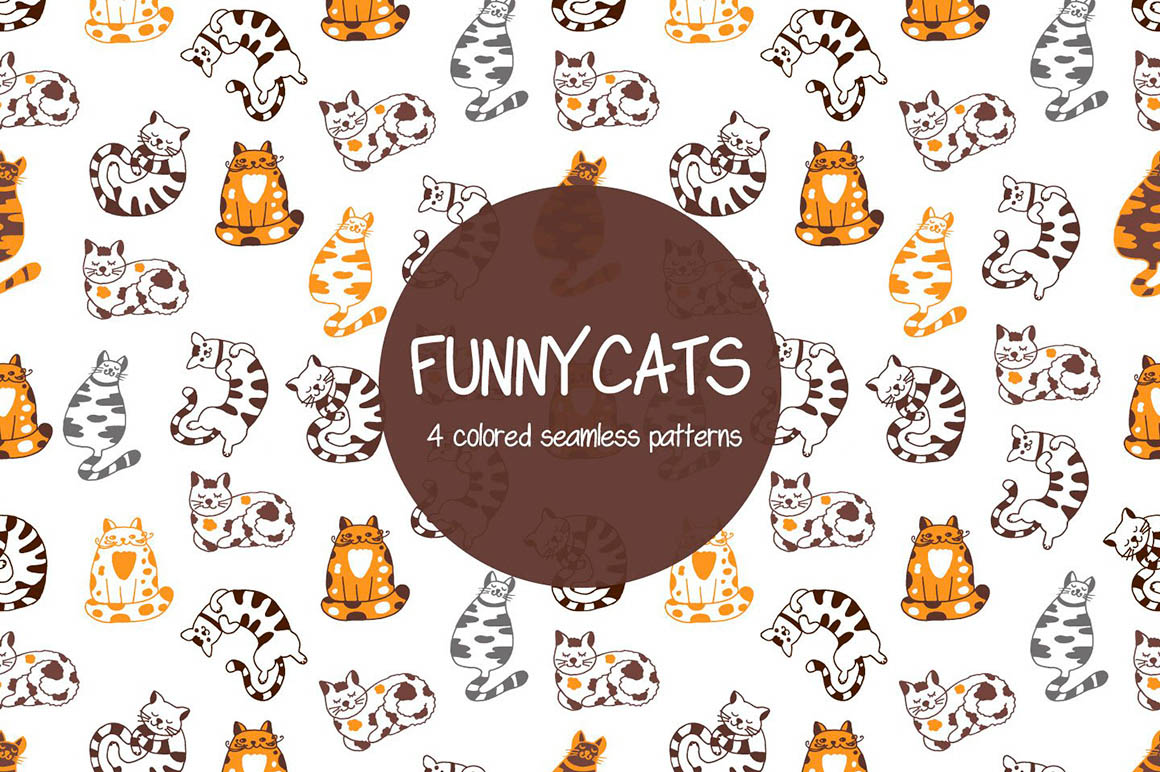 Funny Cats Patterns