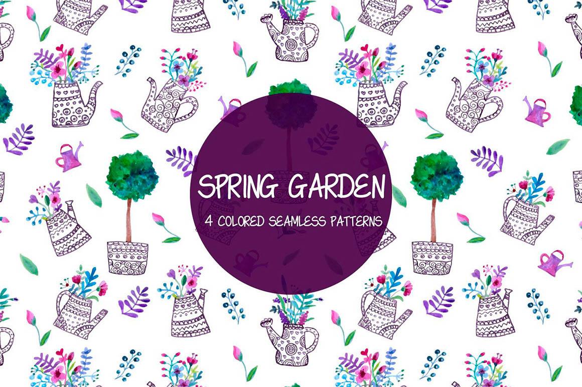 Spring Garden Pattern