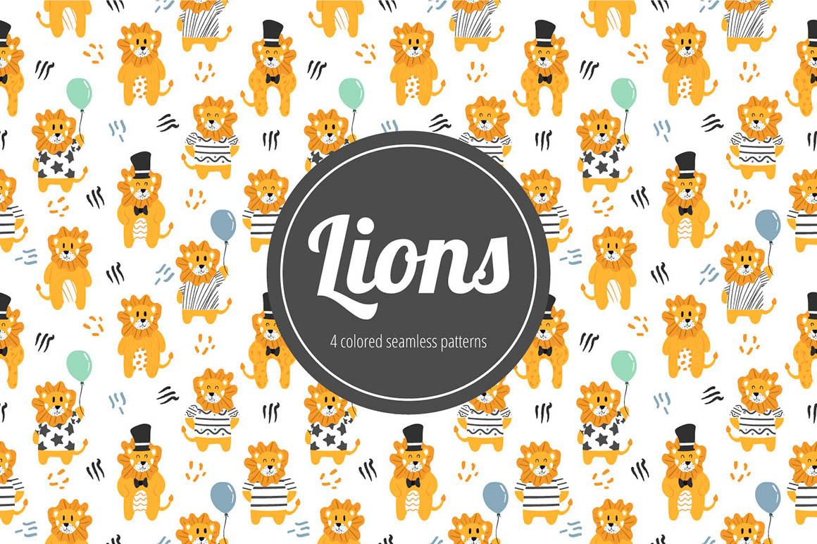 Lions Pattern