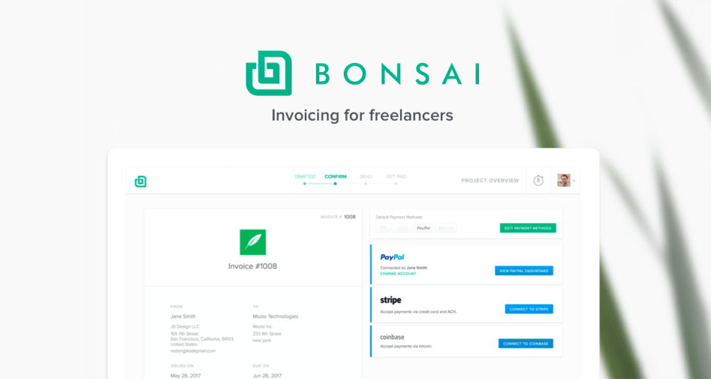 Bonsai - Freelance Invoice