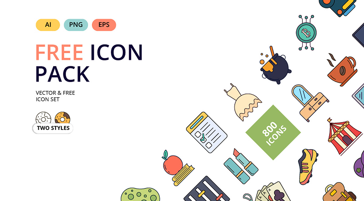 Free Icon Packs - GraphicsFuel