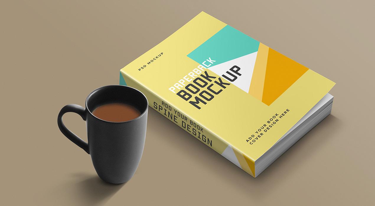 Book Mockup PSD Template