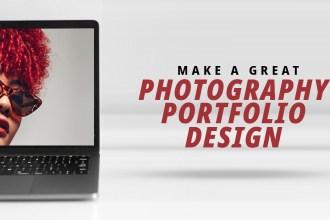 Photography Portfolio Design Website