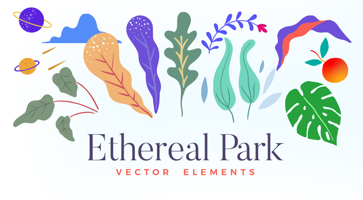 Ethereal Vector Elements