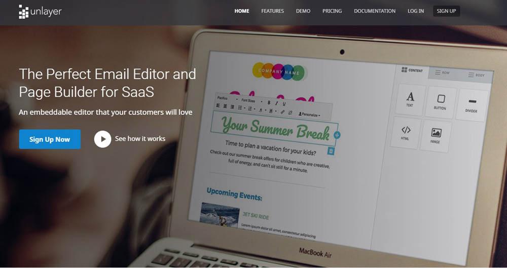 Unlayer - Email Editor