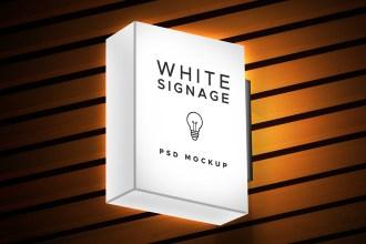 Lightbox Signage Mockup