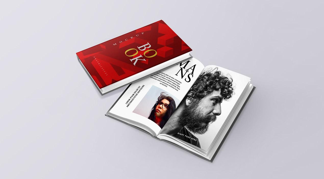 PSD Book Mockups Set