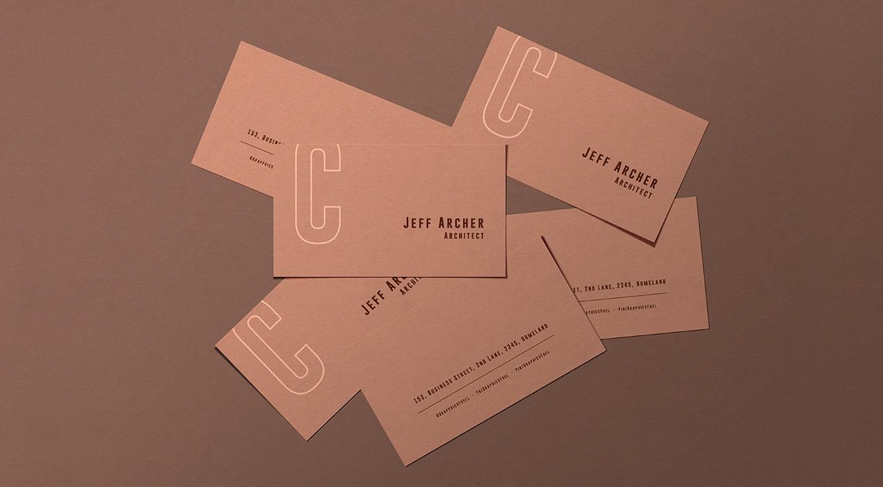 Business Card PSD Mockup Templates
