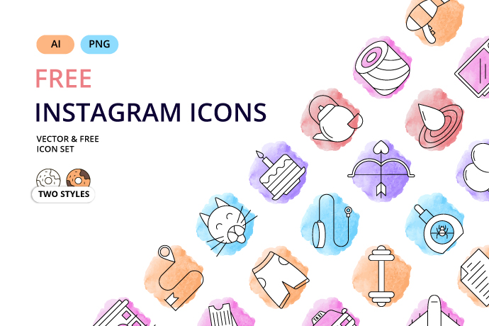 Instagram Story Highlights Icons