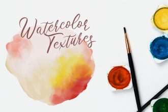 Watercolor Textures Mini Kit
