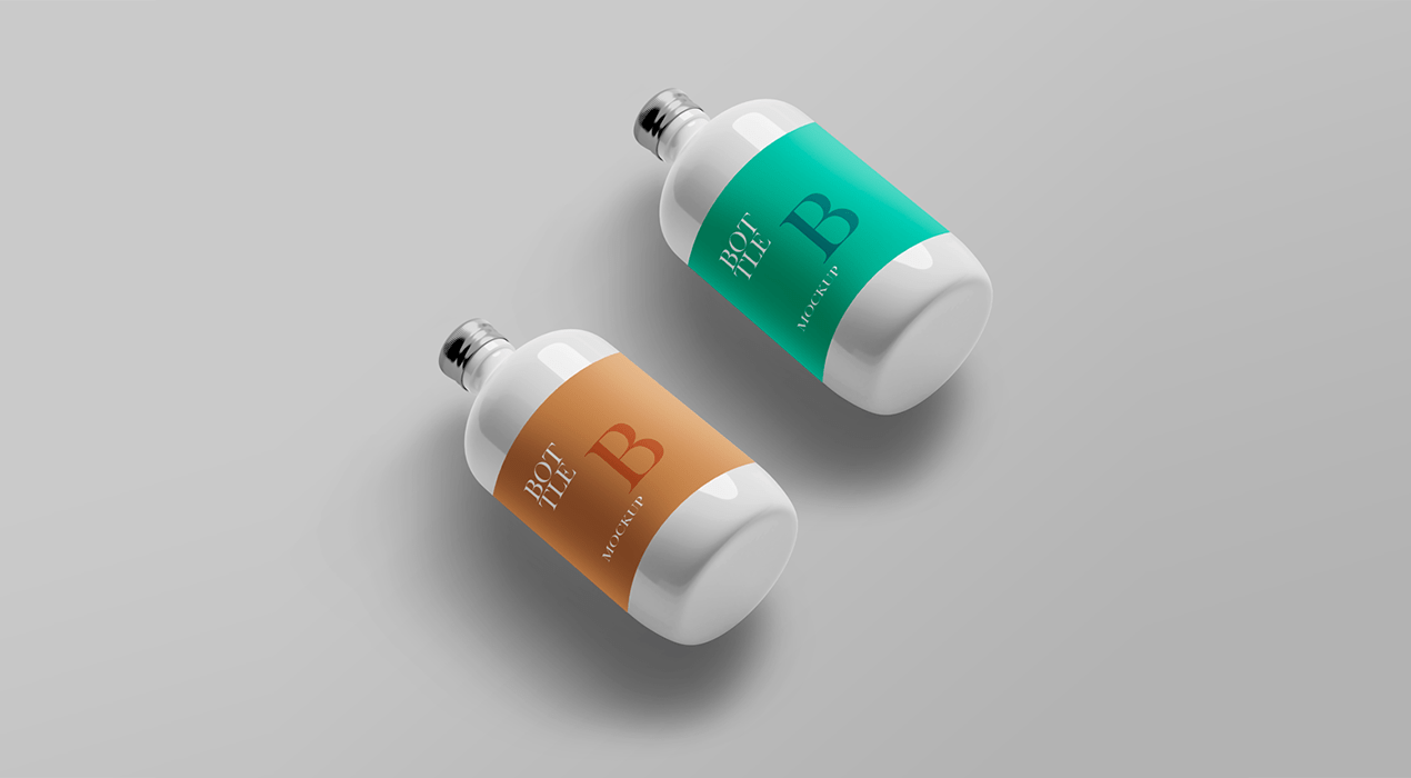 Bottle PSD Mockup Templates