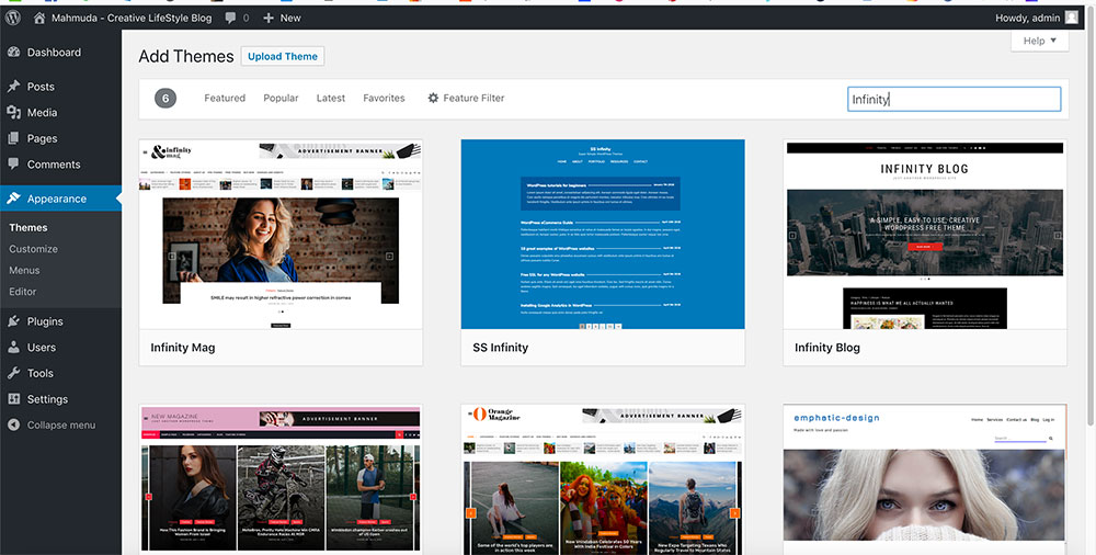 How to install WordPress theme? step by step - GraphicSlot