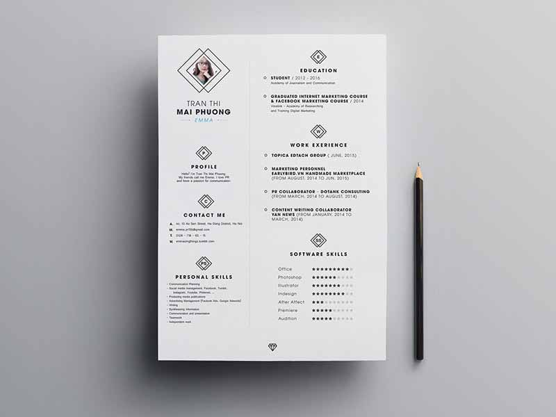5 downloadable free resume templates 2019  download now