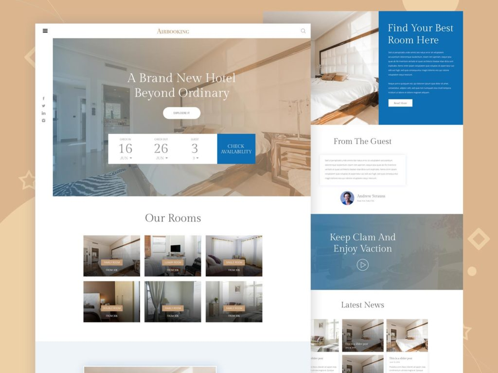 hotel-booking-website-templates