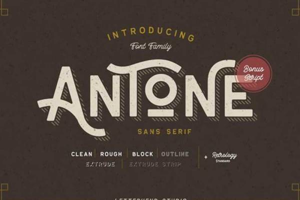 Antone-font-free-download