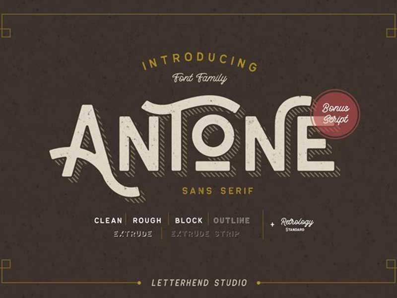 Antone-font-free-download