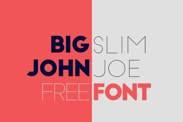 Big-John-Slim-Joe-free-font-download
