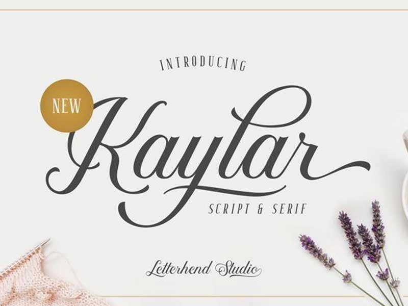 Kaylar-demo-font-free-download
