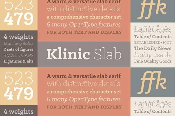klinic-slab-font-free-download