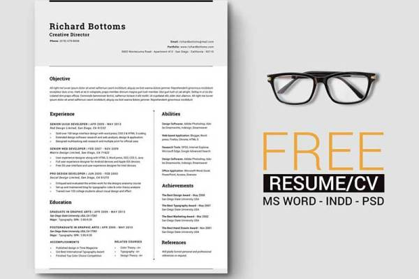 Timeless-Resume-Template