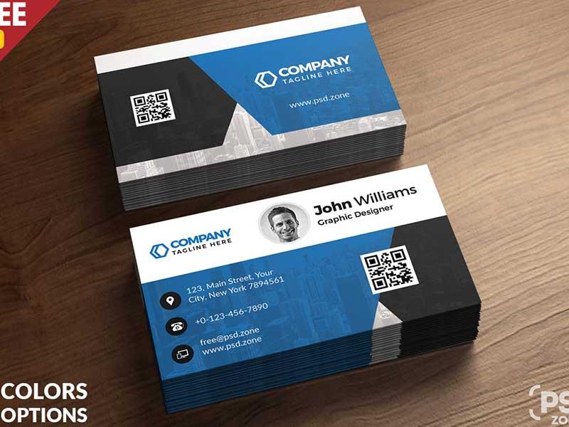 15 Free Printable Business Card Templates Psd 2018