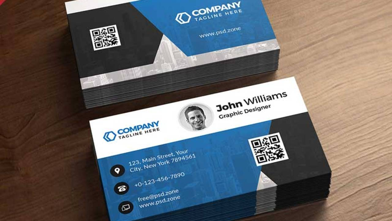 4+ Free Printable Business Card Templates PSD 4