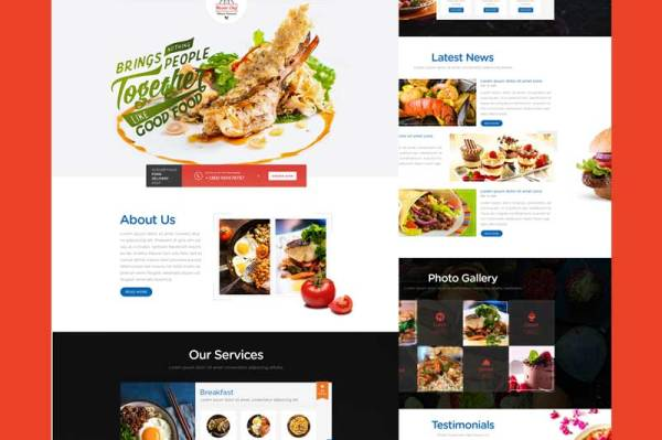 food-restaurant-psd